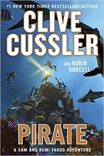 Clive Cussler Pirate cover