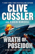 Clive Cussler Wrath Of Poseidon cover